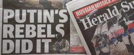 mh17 headline