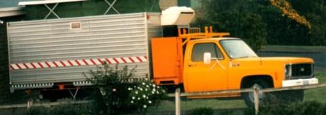 Mortuary truck