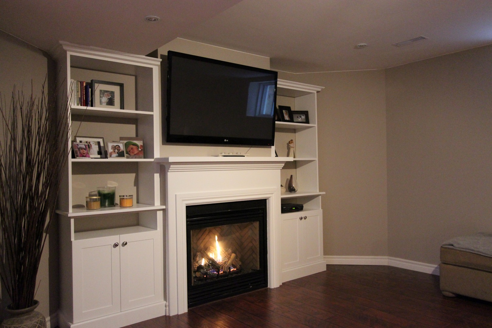 Built In Fireplace Amp Entertainment Units Gum Tree Cabinets