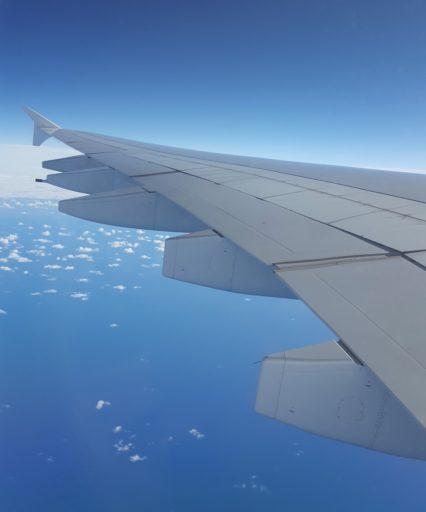 Flug mit dem A380 von Auckland nach Sydney