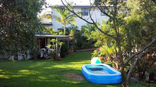 Unterkunft in Sydney mit Garten