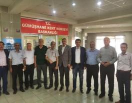 Milletvekili Pektaş ve İl Başkanı Köse'den Gümüşhane Kent Konseyi'ne Teşekkür