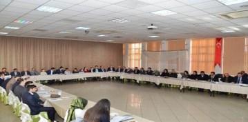 Gümüşhane'de Danışma Kurulu Toplantısında Eğitimin Analizi yapıldı