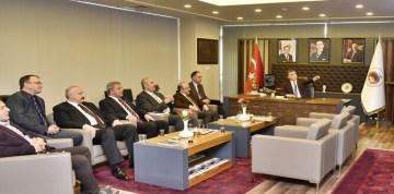 Doğu Karadeniz Belediyeler Birliği Encümen Toplantısı Gümüşhane'de Yapıldı
