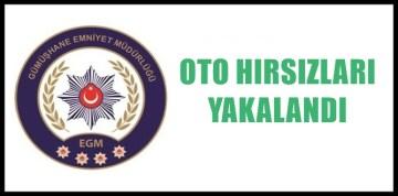 GÜMÜŞHANE POLİSİNDEN HIRSIZLIK OLAYLARINA HIZLI MÜDAHALE