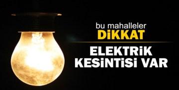 Gümüşhane'de Bu Mahallelerde Cumartesi – Pazar Elektrik Kesilecek