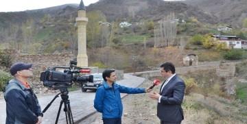 VALİ MEMİŞ TRT'YE GÜMÜŞHANE'Yİ ANLATTI
