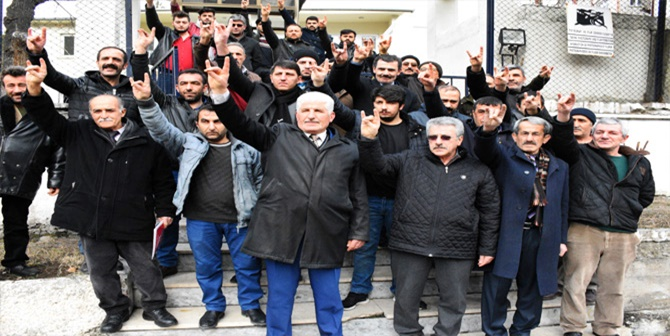 GÜMÜŞHANE MHP'DEN  AFRİN'E  GÖNÜLLÜ ASKERLİK BAŞVURUSU