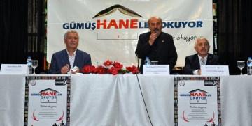 """""""GÜMÜŞ HANELER OKUYOR"""" PROJESİ'NDE OKUMANIN ÖNEMİ ANLATILDI"""
