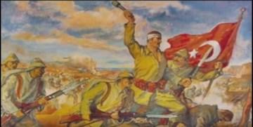 GÜMÜŞHANE'DE 103 ÖĞRENCİ ÇANAKKALE ZAFERİ'NİN 103. YILINDA ÇANAKKALE KORUSU OLUŞTURDULAR