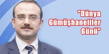 """MAHMUT SAMİ MALLI'DAN """"DÜNYA GÜMÜŞHANELİLER GÜNÜ"""" NE DESTEK"""