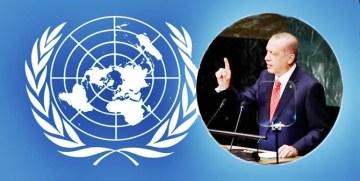 DÜNYA LİDERİ ERDOĞAN'I BM'DE TÜM DÜNYA DİNLEDİ (2)