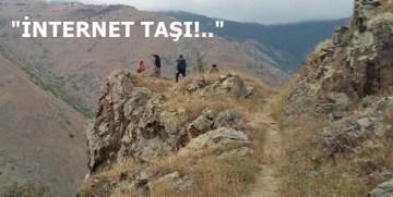 TORUL ALINYAYLA KÖYÜNDE  CEP TELEFONU VE İNTERNET ÇİLESİ