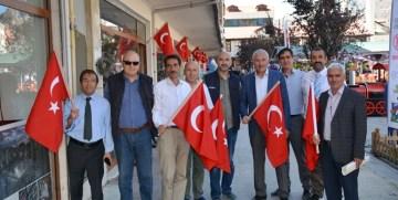 GTSO; GÜMÜŞHANE'DE 750 İŞYERİNİ TÜRK BAYRAĞI İLE DONATTI