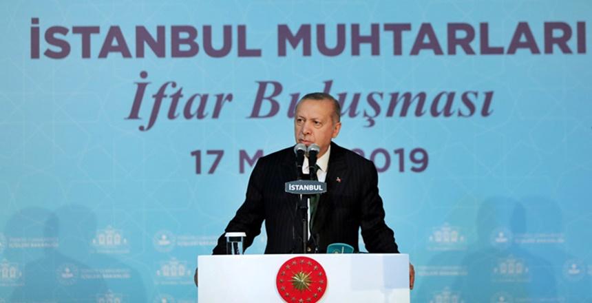 Cumhurbaşkanı Erdoğan'dan Muhtarlık Sistemi Değişiklik Sinyali
