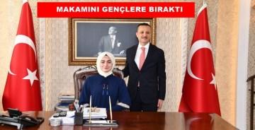 GÜMÜŞHANE VALİSİ TAŞBİLEK'TEN 19 MAYIS'TA ÖRNEK DAVRANIŞ