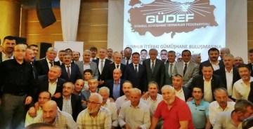 GÜDEF, BİNALİ YILDIRIM İÇİN GÜMÜŞHANE'Yİ  İSTANBUL'A TOPLADI
