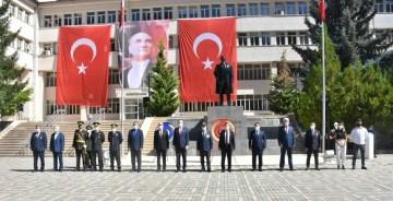 GÜMÜŞHANE'DE 30 AĞUSTOS ZAFER BAYRAMI KUTLANDI