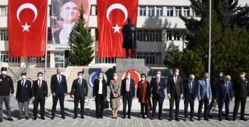 Gümüşhane'de 29 Ekim Cumhuriyet Bayramı Kutlandı