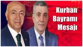 Gümüşhane Milletvekilleri Akgül ve Pektaş'ın Bayram Mesajı