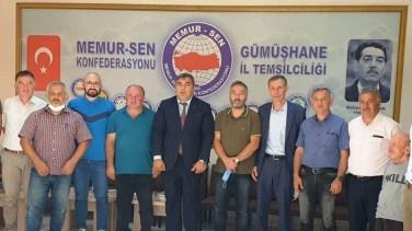 İl Milli Eğitim Müdürü Miraç Sünnetçi'den Eğitim Bir Sen'e Ziyaret
