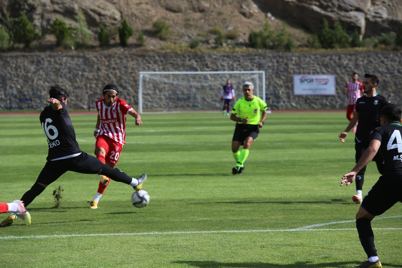 TFF 3. Lig: Gümüşhanespor: 0 – Ceyhanspor: 0