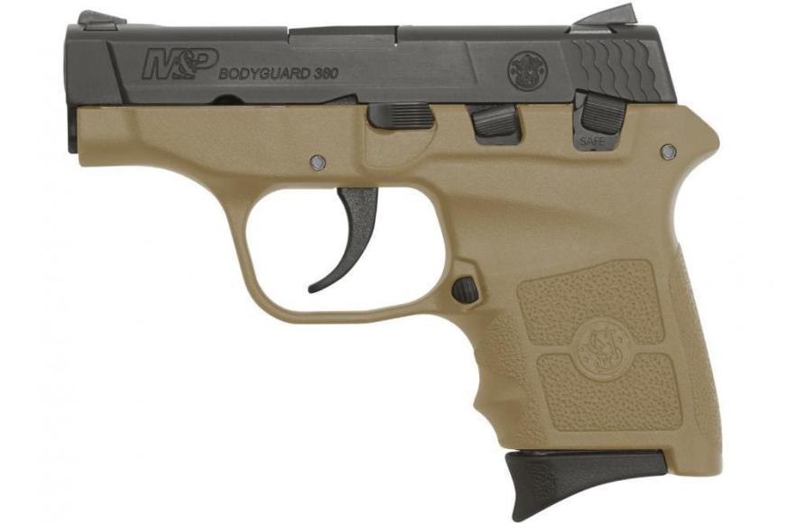 Smith & Wesson Bodyguard 380 acp 6rd 2.75 FDE No Laser ...