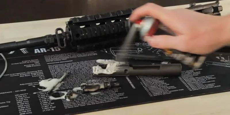 Tek Gun Cleaning Mat