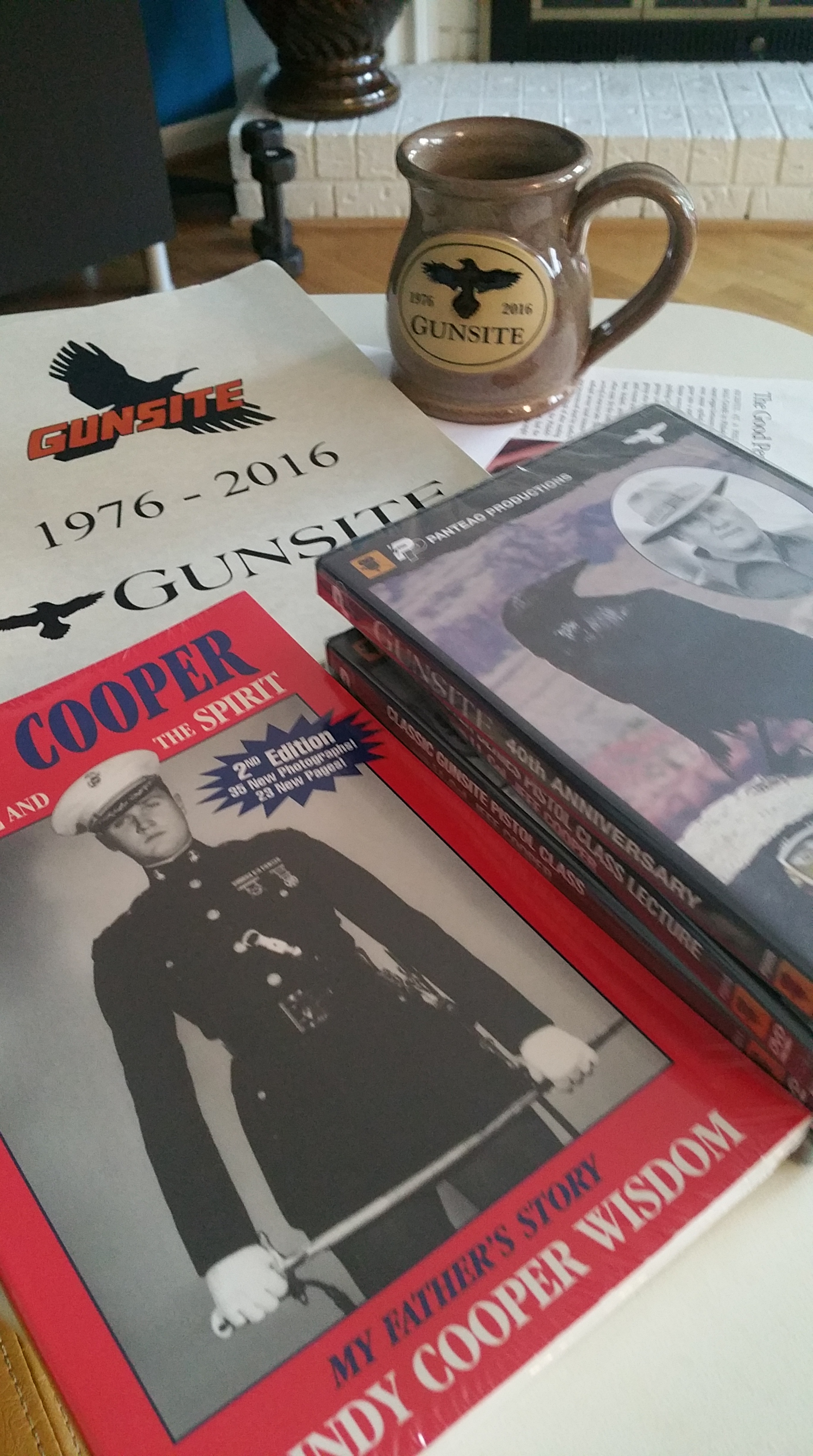 Col. Jeff Cooper, Life Insurance Salesman