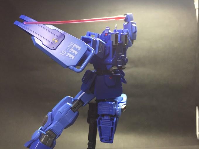 "HGUC207 1/144 RX-79BD-1 ブルーディスティニー1号機""EXAM"" BLUE DESTINY UNIT1 ""EXAM"" アクション action"