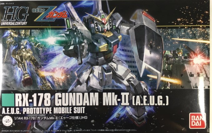 1/144 HGUC 193 RX-178 ガンダムMk-II (エゥーゴ仕様) GUNDAM Mk-II (A.E.U.G.)