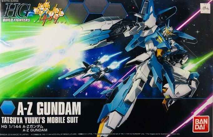 HG 1/144 A-Zガンダム A-Z GUNDAM TATSUYA YUUKI MOBILE SUIT BUILD FIGHTERS BATLOGUE ビルドファイターズ バトローグ amazon 限定 limited