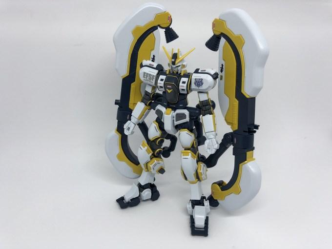 HG 1/144 アトラスガンダム Gundamu thunderbolt bandit flower ver. ATLAS GUNDAM RX-78AL プレミアムバンダイ プレバン PREMIUM BANDAI LIMITED 限定 レビュー REVIEW