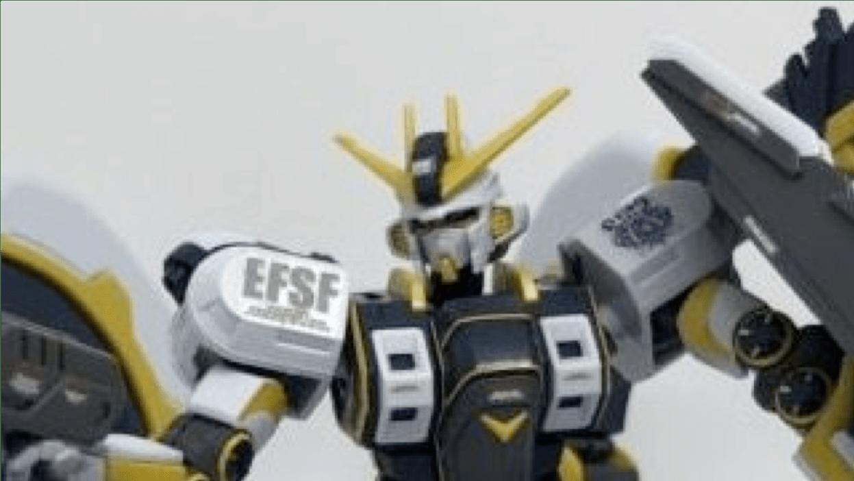 HG 1/144 アトラスガンダム Gundamu thunderbolt bandit flower ver. ATLAS GUNDAM RX-78AL プレミアムバンダイ プレバン PREMIUM BANDAI LIMITED 限定 レビュー REVIEW サムネイル