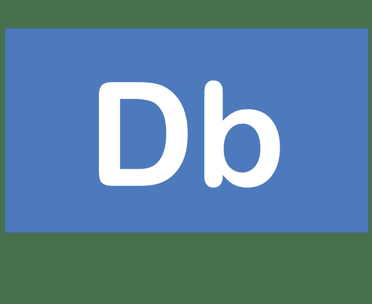 105 Db ドブニウム Dobnium 元素 記号 周期表 化学 原子