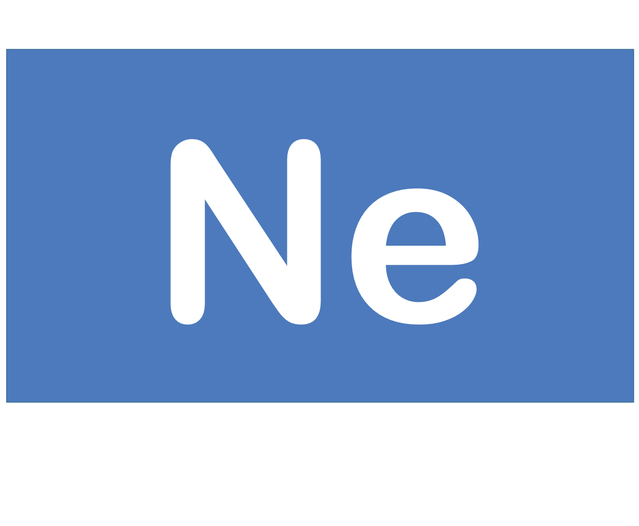 10 Ne ネオン Neon 元素 記号 周期表 化学 原子