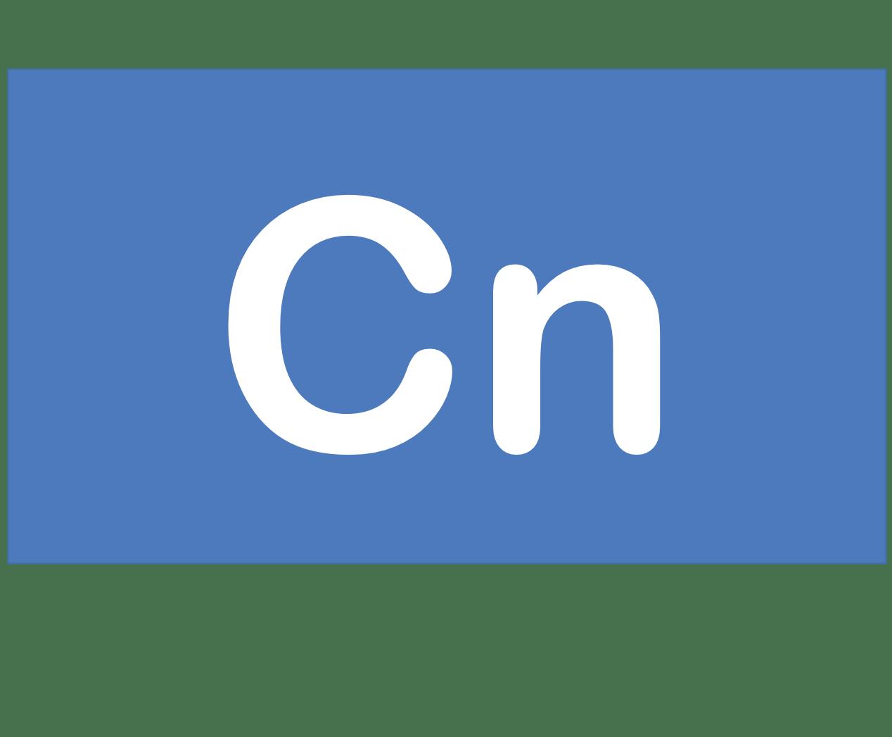 112 Cn コペルニシウム Copernicium 元素 記号 周期表 化学 原子