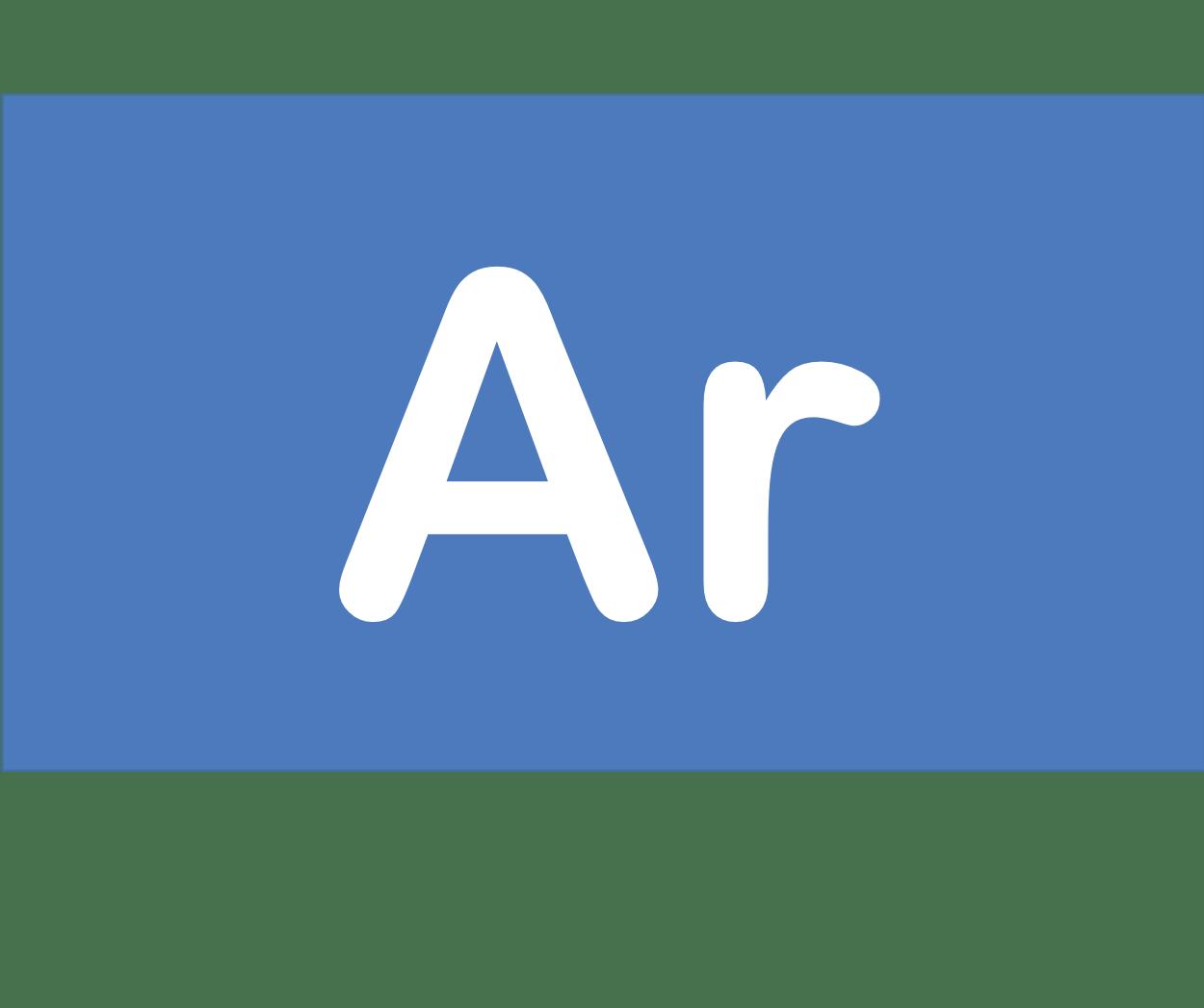 18 Ar アルゴン Argon 元素 記号 周期表 化学 原子