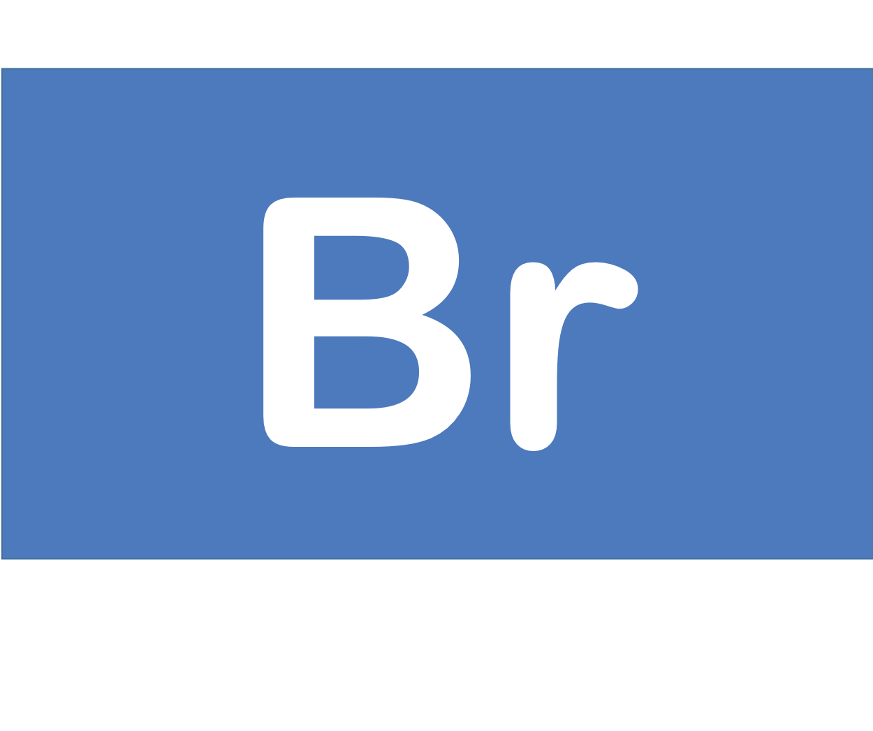 35 Br 臭素 Bromine 元素 記号 周期表 化学 原子
