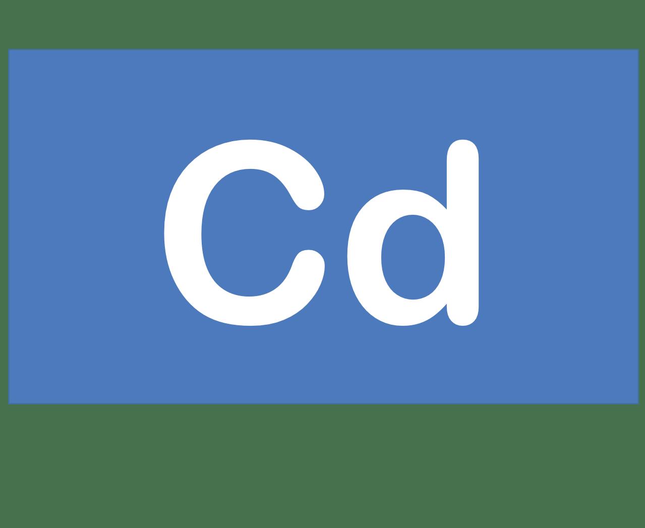 48 Cd カドミウム Cadmium 元素 記号 周期表 化学 原子