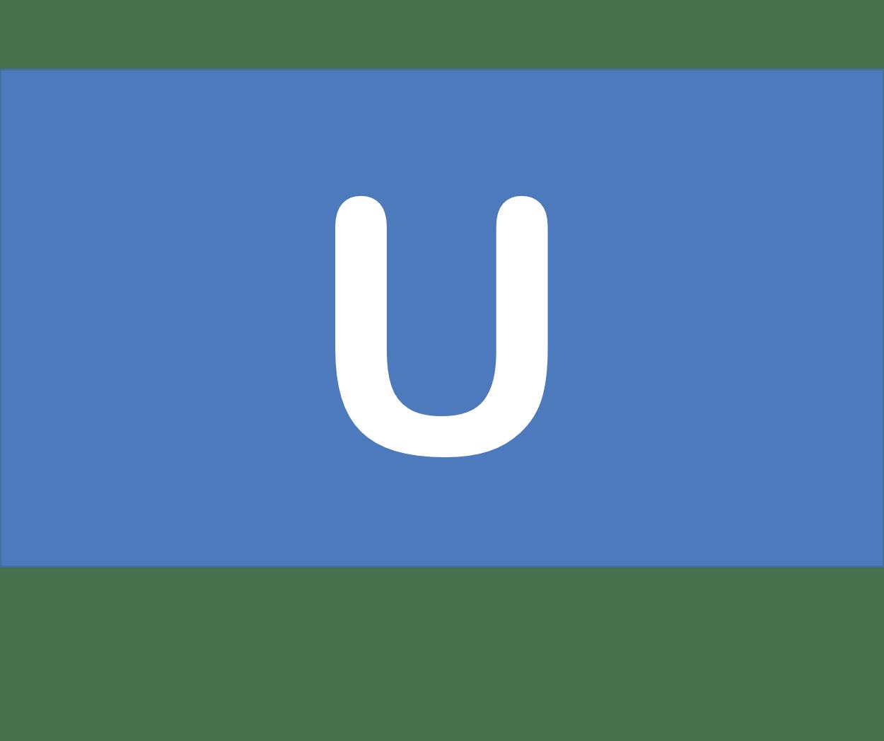 92 U ウラン Uranium 元素 記号 周期表 化学 原子