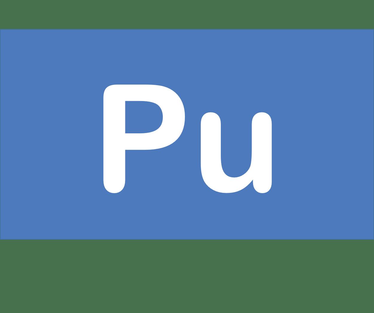 94 Pu プルトニウム Plutonium 元素 記号 周期表 化学 原子