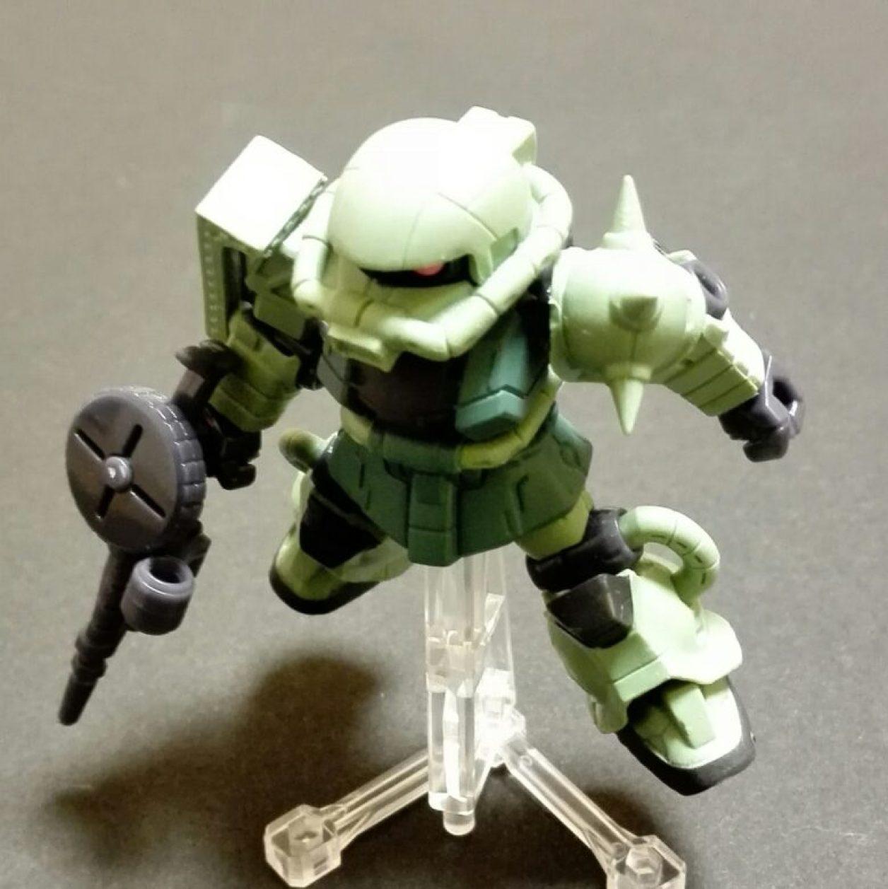 MOBILE SUIT ENSEMBLE 01弾の量産型ザクIIの画像