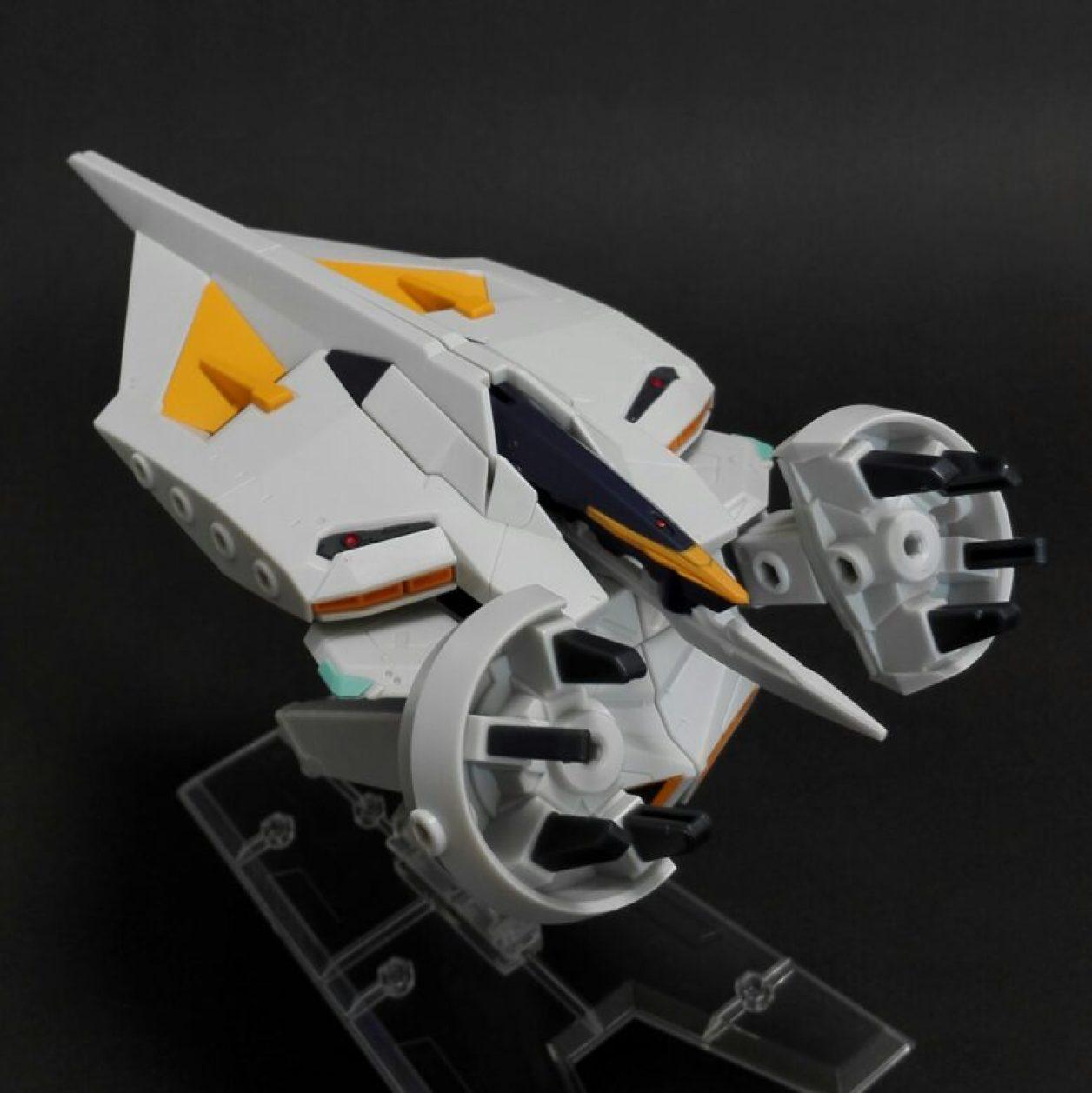MOBILE SUIT ENSEMBLE EX04弾のダンディライアンIIのMA(モビルアーマー)形態の左側からの画像