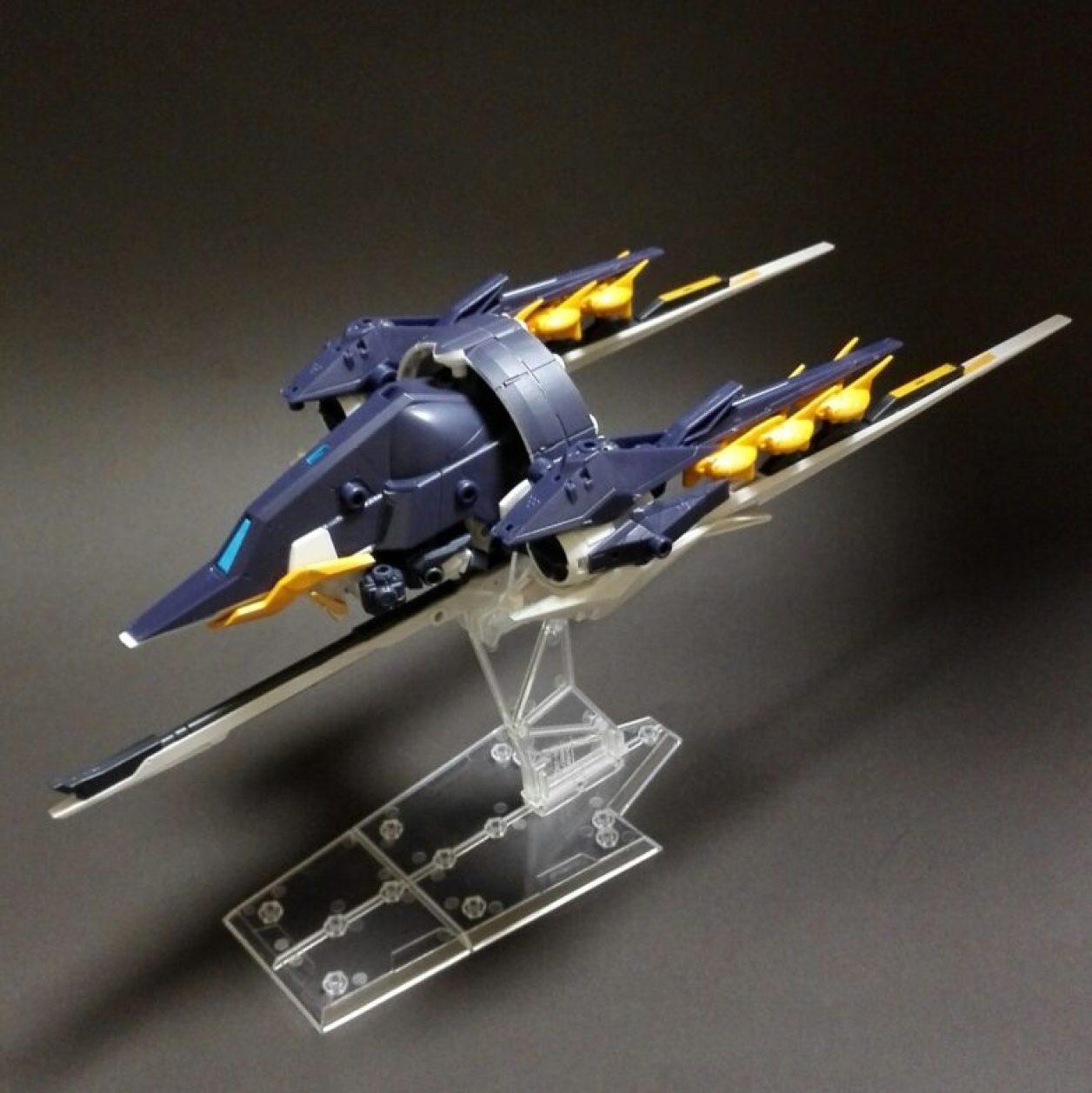 MOBILE SUIT ENSEMBLE(モビルスーツアンサンブル) EX09弾のTR-6 インレのレビューより「ガンダム TR-6[ファイバーII](MA)」形態の画像