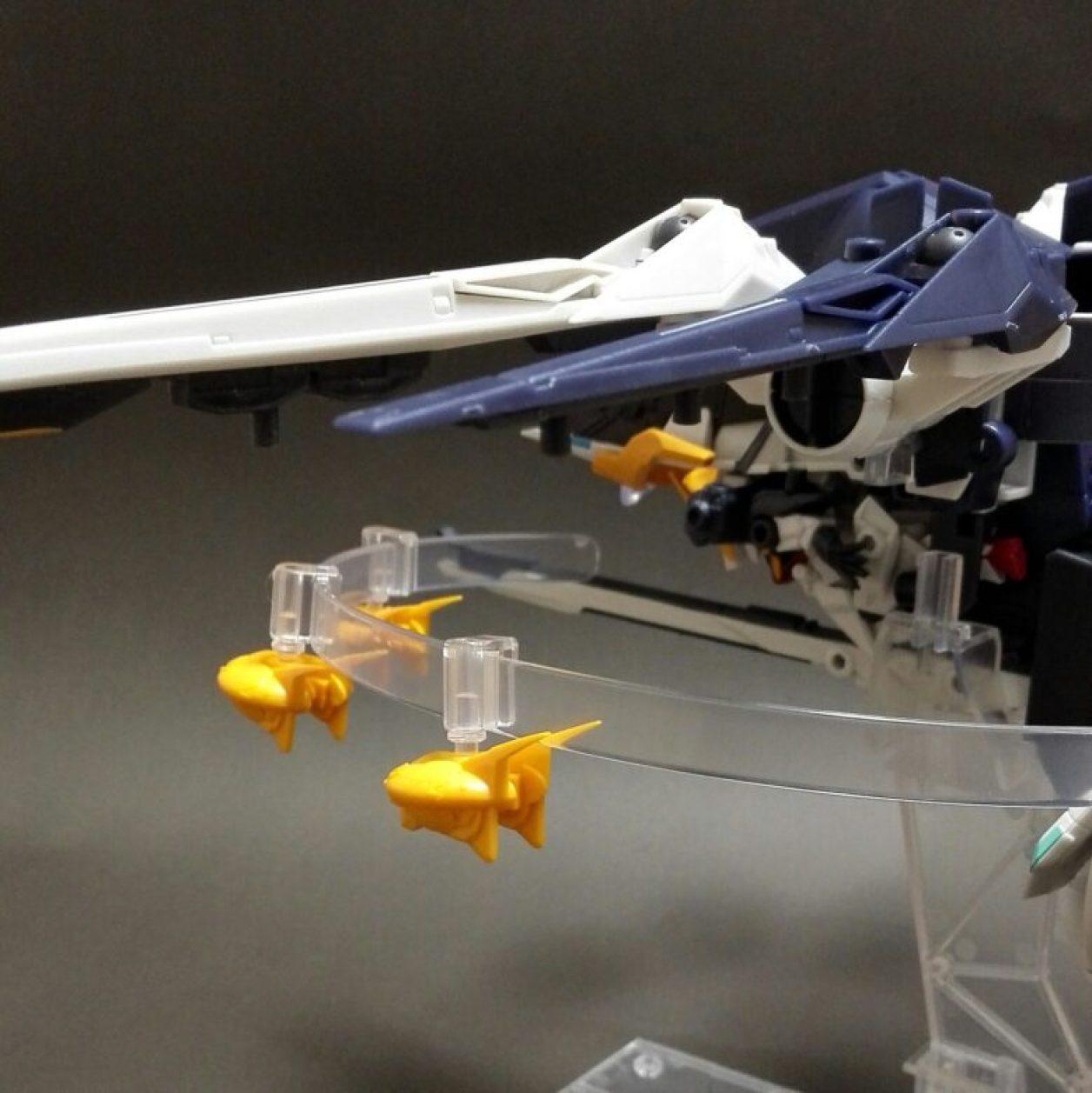 MOBILE SUIT ENSEMBLE(モビルスーツアンサンブル) EX09弾のTR-6 インレのレビューよりMA形態のうち射出形態の画像