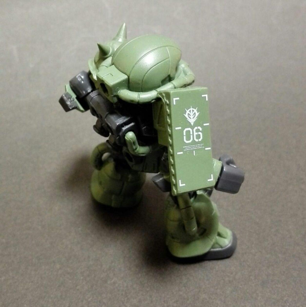 mobile suit ensemble(モビルスーツアンサンブル)1.5弾のザク(マーキングプラス)の画像