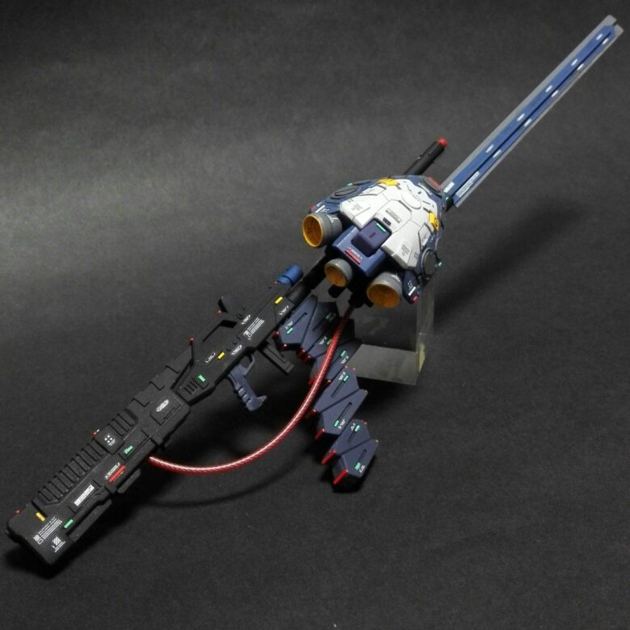HGUCガンダムTR-1[ヘイズル改]用のビームライフルをベースキットとした改造武装の画像