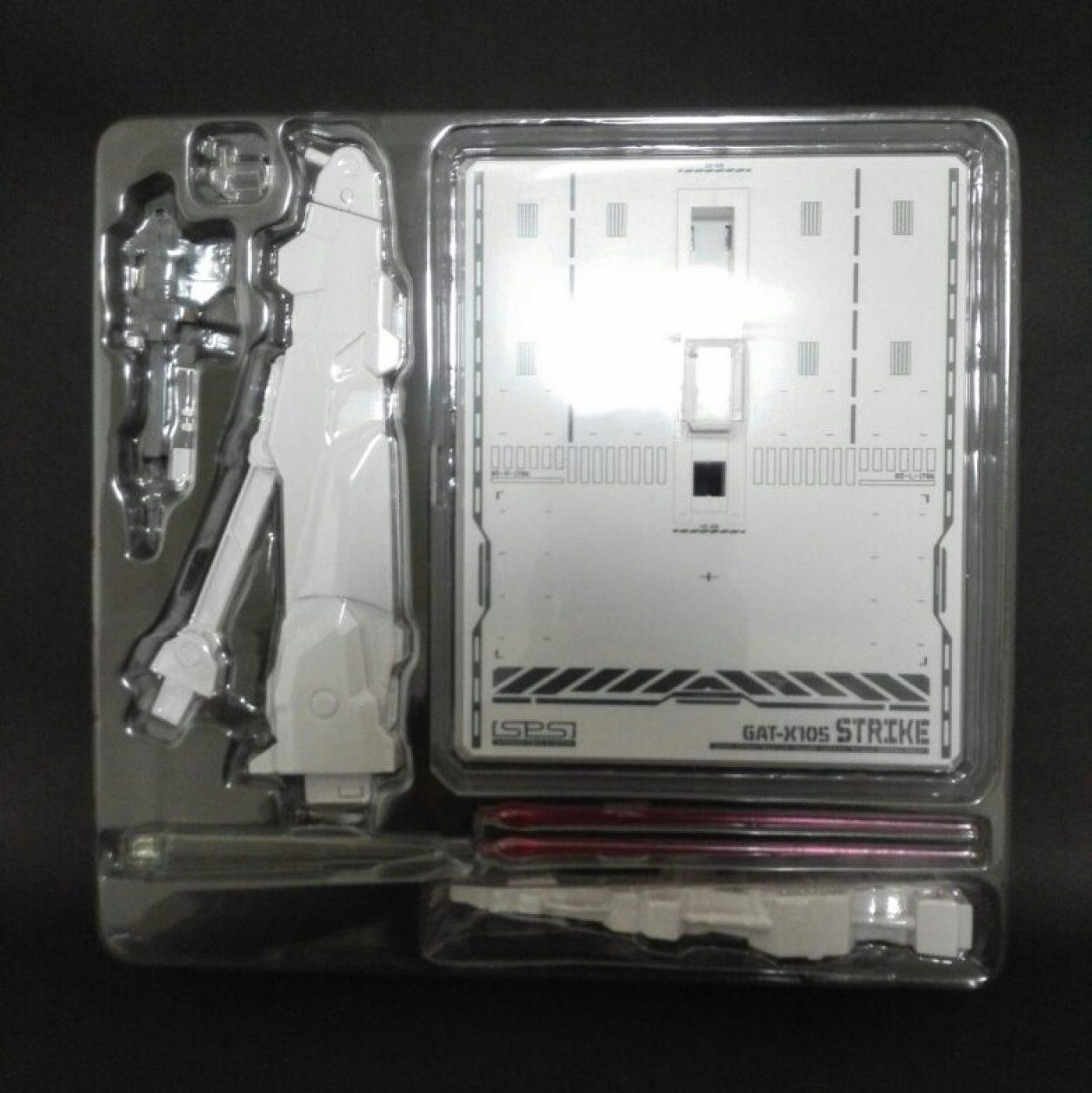 METAL BUILED(メタルビルド)エールストライクガンダムの付属品の画像