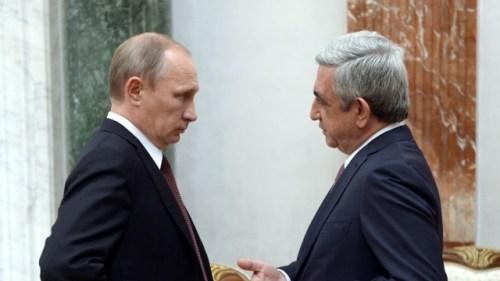 Image result for Sarkisyan putin